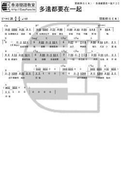 鄧紫棋(G.E.M.)-多遠都要在一起P.2